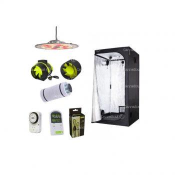 Combo Indoor Completo Antiolor Carpa Iluminación Ventilación