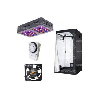 Combo Indoor Probox60 + Led Vipar 300w + Coolers + Timer