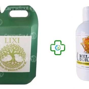 Pack Lixi Organic Life + Melaca Dorada –