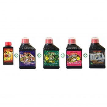 Combo Top Crop Veg Bloom Candy Deeper 250ml + Barrier 100ml