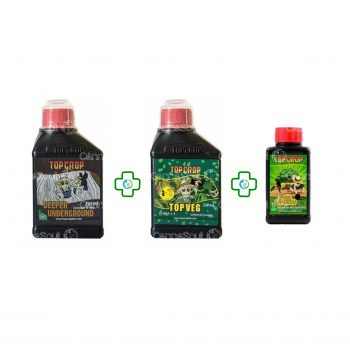 Combo Top Crop Green Explotion 100ml + Deeper + Veg 250ml