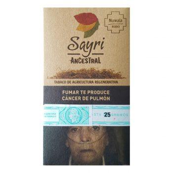 Combo Tabaco Sayri + Papeles Ocb orgánicos + Filtros Raw