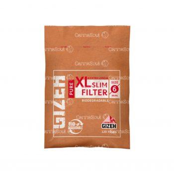 Filtro Para Tabaco Gizeh Pure Xslim Biodegradable