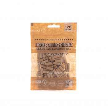 Filtro Para Tabaco Lion Rolling Circus Unbleached