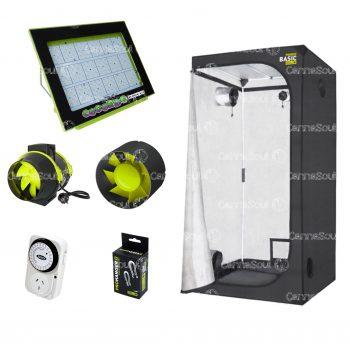 Combo Indoor Cogordo1000p Carpa Ventilación Accesorios